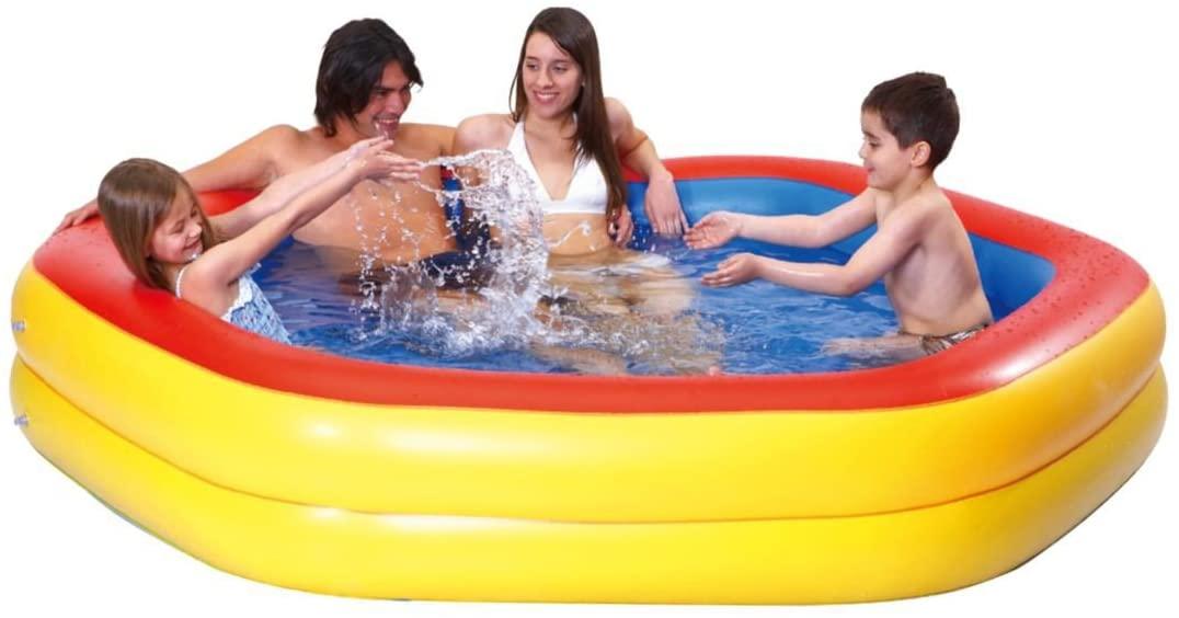 Pool Jilong Giant Hexagon Pool 230x230x45 Cm Bei Serag AG