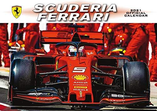 00 Kalender 2021 Ferrari Formel 1 Serag AG 0