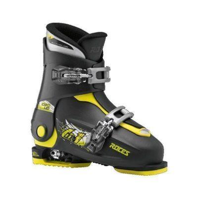 Kinder Skischuhe Roces Idea_schwarz _gelb_Gr. 30 bis 35