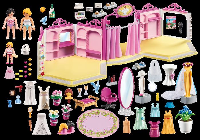 Brautmodegeschäft mit Salon