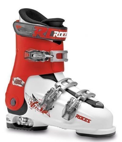 Roces Idea_Rot_Weiss _Gr. 36 bis 40- Kinder Skischuhe