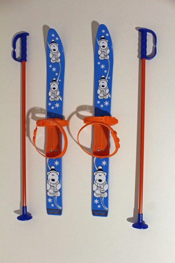 Kinderski Marmat blau-orange 1