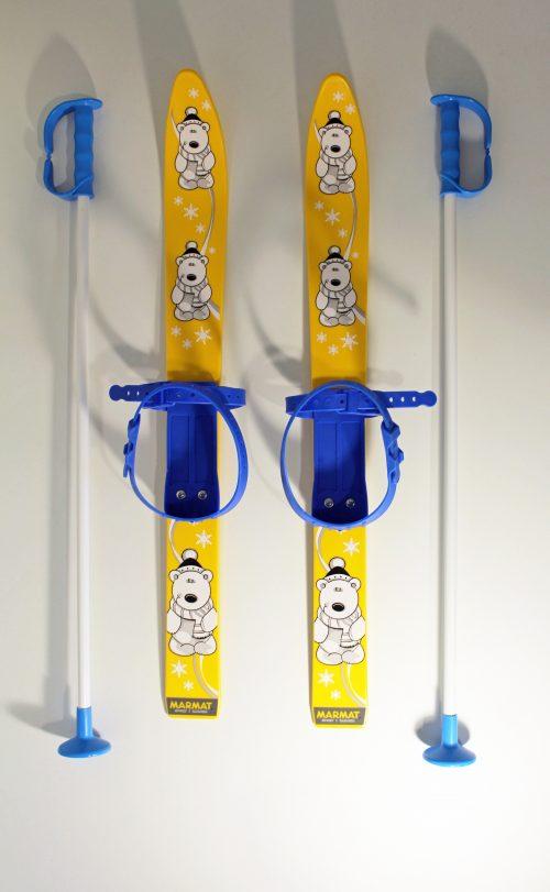 Kinderski Marmat gelb-blau 1