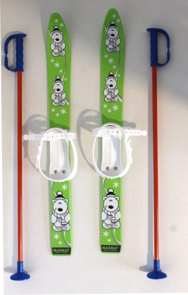 Kinderski Marmat Grün Rotorange