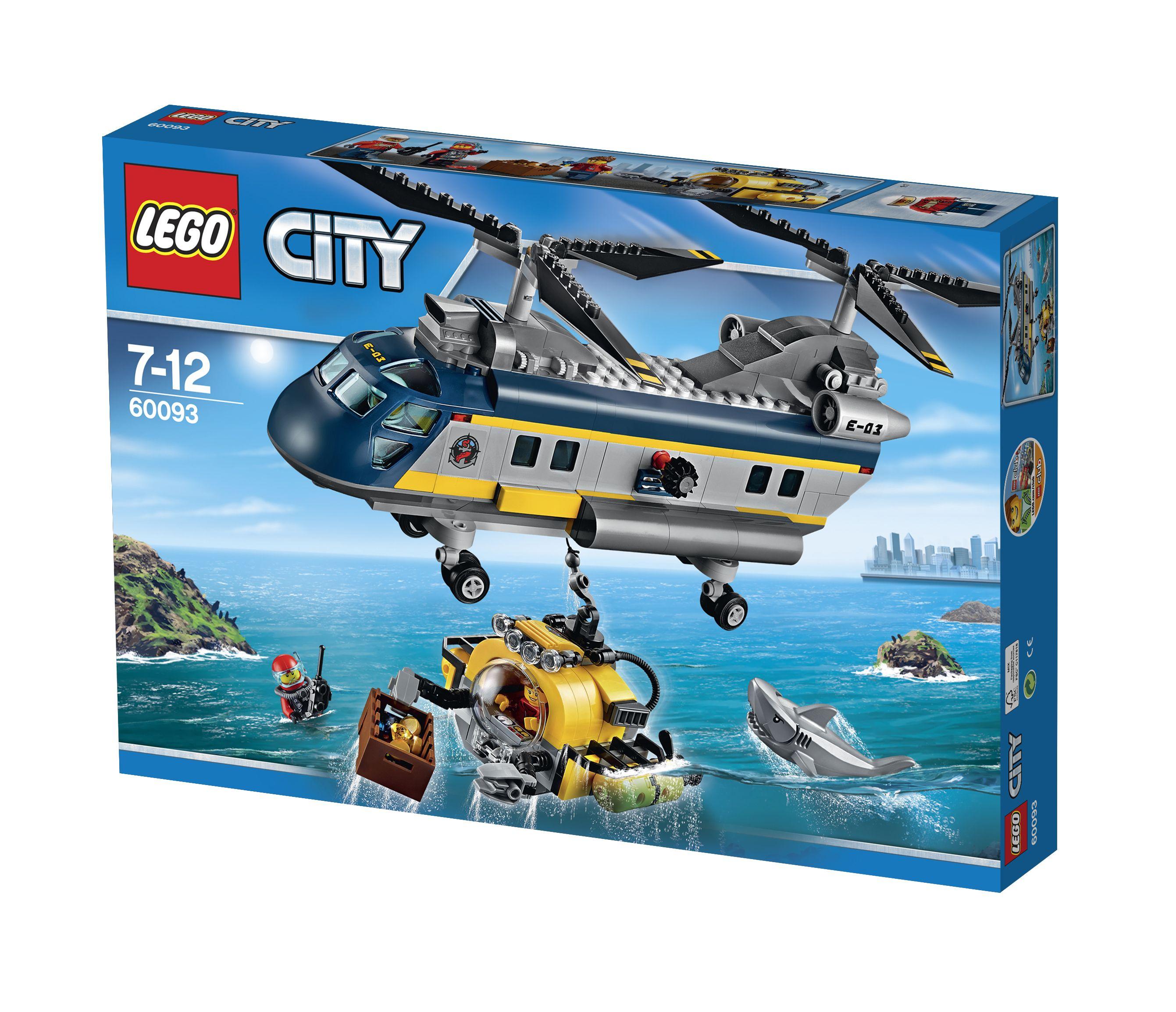 Tiefsee Helikopter
