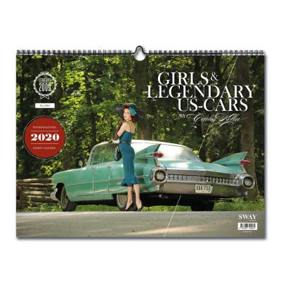 Girls & legendary US-Cars 2020 Wochenkalender