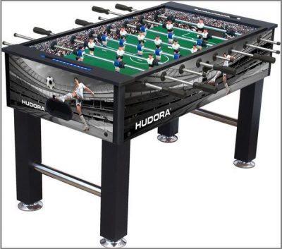 01 Kickertisch Tischfussball Hudora London