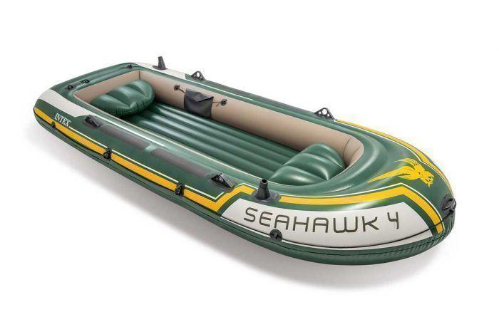 02 Intex Seahawk 4 Set Schlauchboot