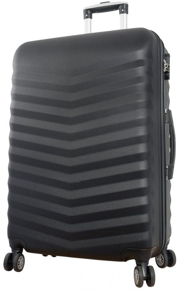 02 ABS Kofferset 3tlg Bora Schwarz