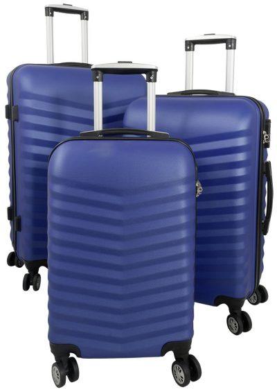 01 ABS Kofferset 3tlg Bora Blau