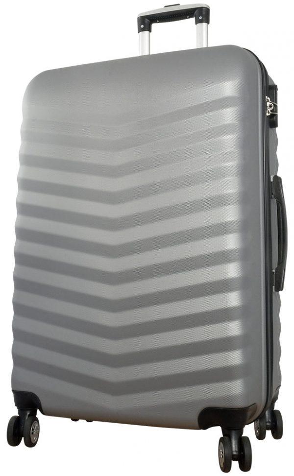 02 ABS Kofferset 3tlg Bora Silber