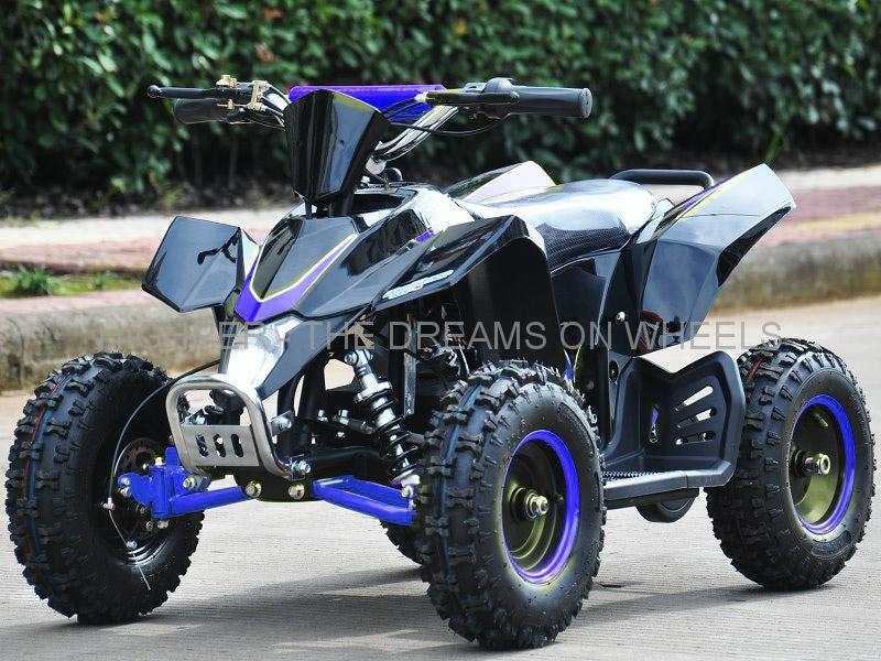 Mini Quad 1000 W eco, Speed in Schwarz / Blau