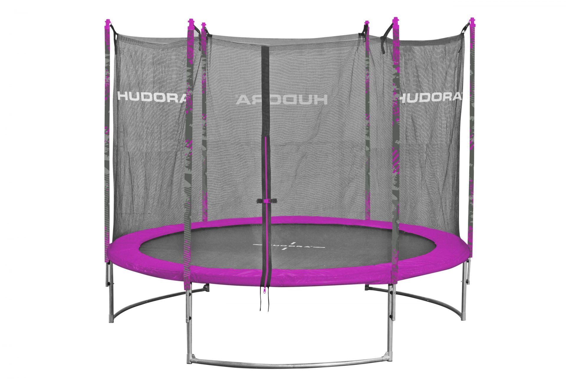 Hudora Family Trampolin 300 pink