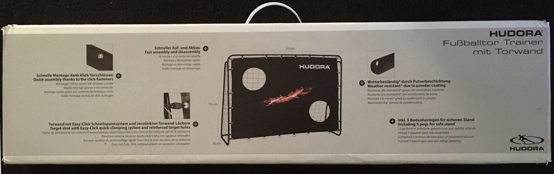 76923 Fussballtor Hudora 213x152x76 8 - 02
