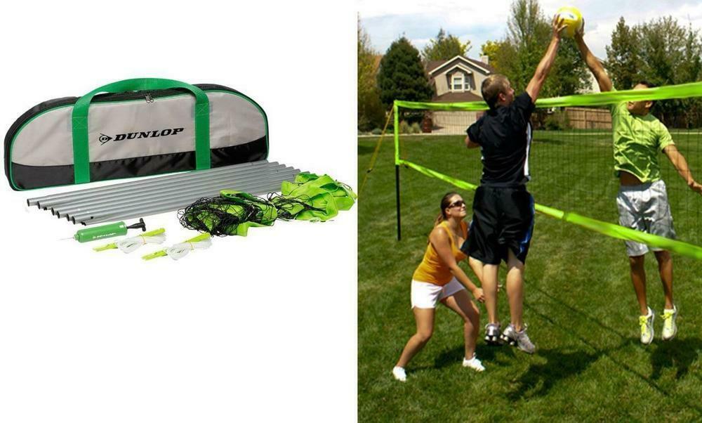 03 Dunlop Volleyball Set