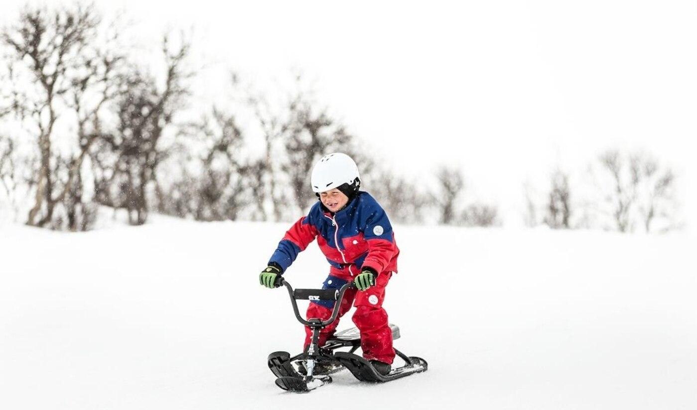02 Schlitten Stiga Snowracer Sx Pro