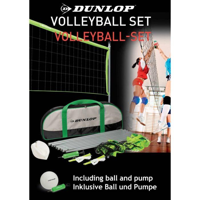 02 Dunlop Volleyball Set