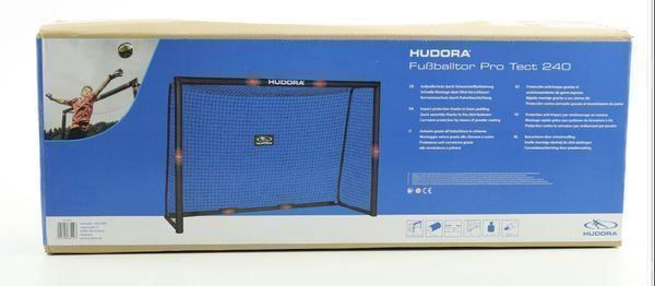 02 Fussballtor Hudora Pro Tect 240