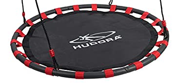02 - 72161 Nestschaukel Von Hudora 120 Cm, Schwarz Rot