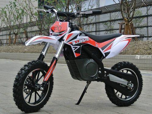 500W GAZELLE Elektro Midi Dirtbike Rot Bei Serag AG