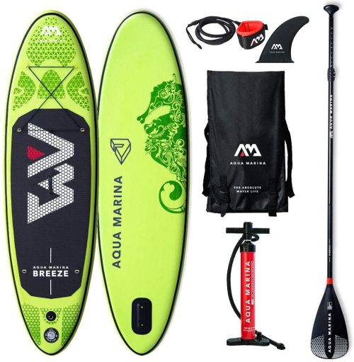 01 Aqua Marina Stand Up Paddle Set Breeze