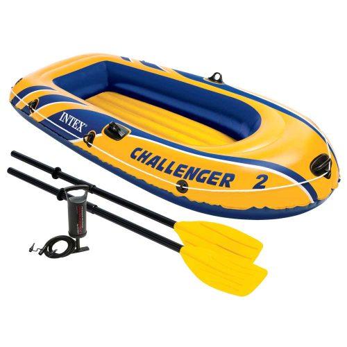 01 Intex Challenger 2 Boat