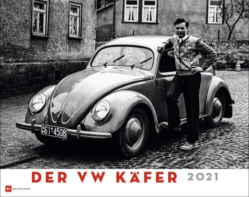 00 Kalender 2021 Der VW Käfer 2021 Schwarz,weiss Delius Klausing Verlag Serag AG 0