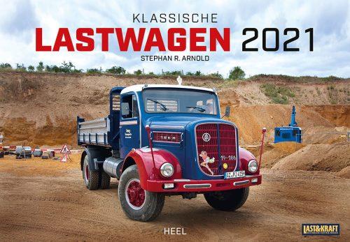 00 Kalender 2021 Klassische Lastwagen Heel Verlag Serag AG 0