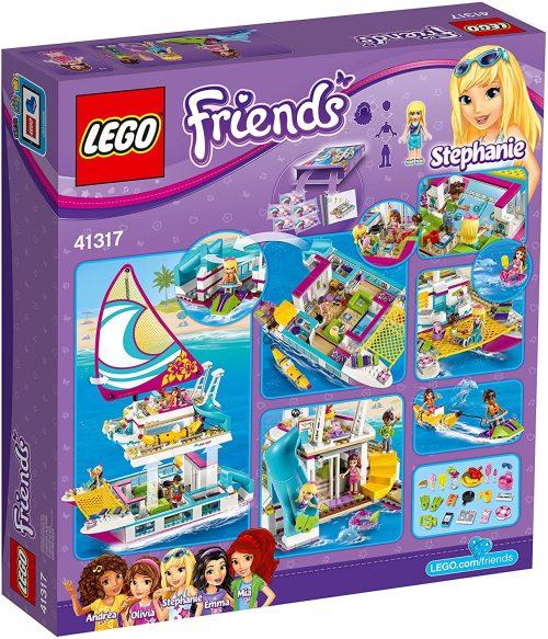 01 Lego 41317 Friends Sonnenschein Katamaran