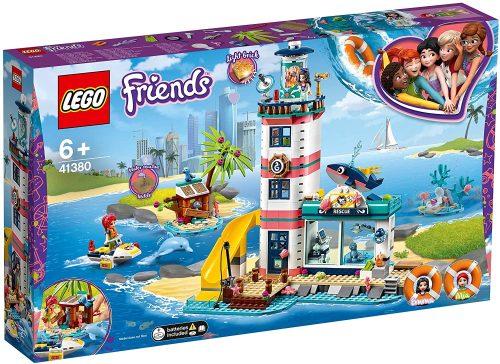 01 Lego 41380 Friends Leuchtturm Mit Flutlicht