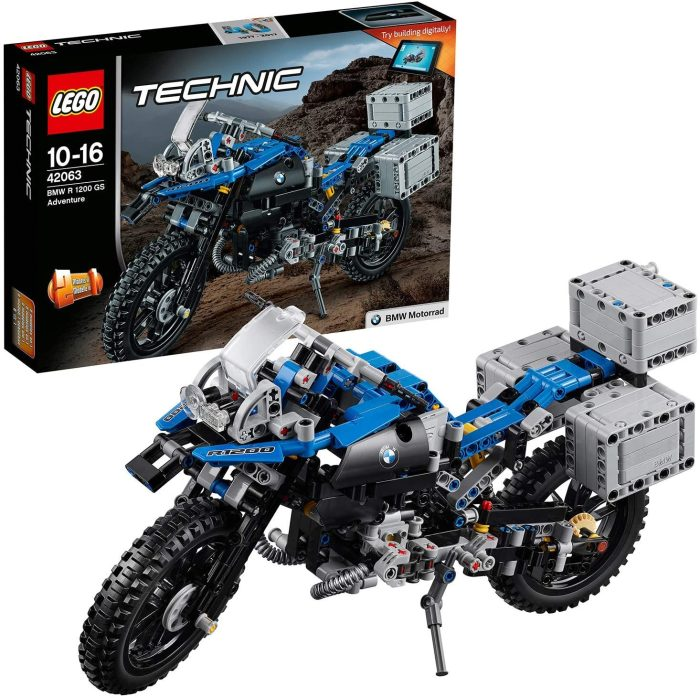 01 Lego 42063 Technic™ BMW R 1200 GS Adventure