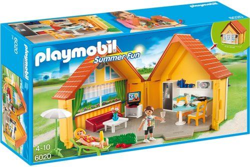 01 Playmobil 6020 Summer Fun Aufklapp Ferienhaus (Holiday Home)