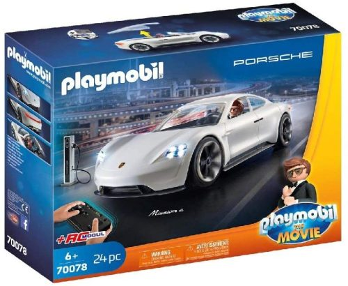 01 Playmobil 70078 The Movie Rex Dasher's Porsche Mission E
