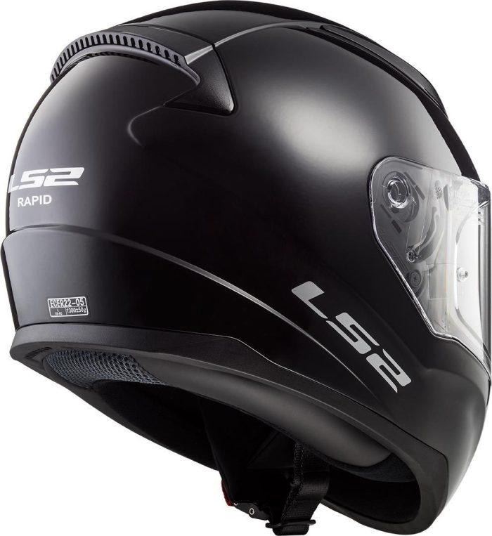 02 Kinder Schutzkleidung Actionbikes LS2 FF353J Rapid Mini Helm Schwarz Für Dirtbikes Oder Miniquad Serag AG 2
