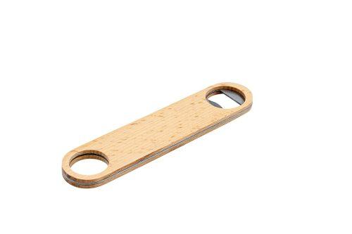 """Flaschenöffner """"Woody"""" Öffnung Ø 3 Cm, 17.8 × 4 × 0.9 Cm 100147 1500x1500"""