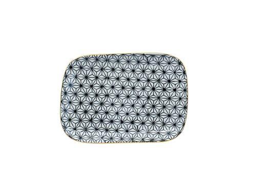 "Fondue & Snackteller ""Metropolitan"" Polygon 19 × 13.6 × 1.8 Cm, Keramik 100103 1500x1500"