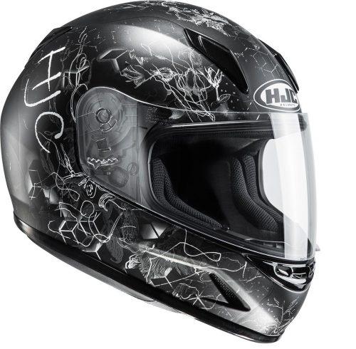 Kinder Schutzkleidung Actionbikes HJC CL Y Vela Helm Schwarzgrau Für Dirtbikes Oder Miniquad Serag AG 1