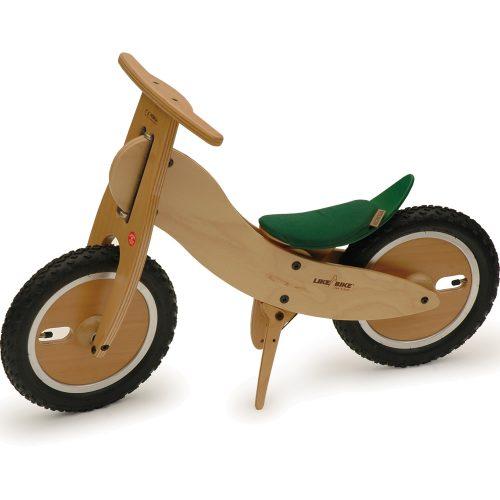 Laufrad Likeabike Von Kokua Forestino Tannengruen Aus Holz Bei Serag AG 1