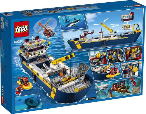 Lego City 60266 Meeresforschungsschiff Serag AG 1