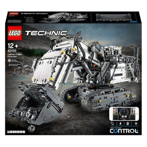 Lego Technic 42100 Liebherr Bagger R 9800 Serag AG 1