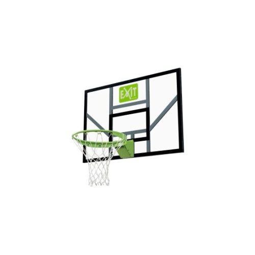 Basketballbrett Von EXIT Toys EXIT Galaxy Mit Dunkring Netz Gruen Schwarz Bei Serag AG 1