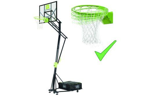 Basketballkorb Auf Rädern Von Exit Toys EXIT Galaxy Mit Dunkring Gruen Schwarz Bei Serag AG 1