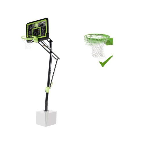 Basketballkorb Von EXIT Toys EXIT Galaxy Zur Bodenmontage Dunkring Black Edition Bei Serag AG 1