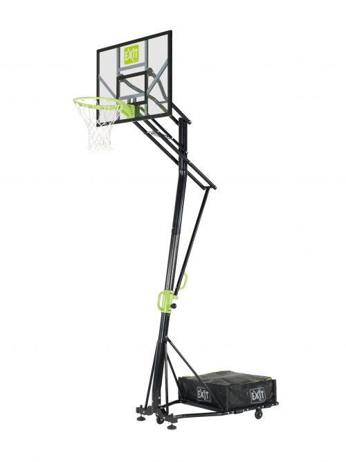 Basketballkorb Von Exit Toys EXIT Galaxy Versetzbarer Auf Raedern Gruen Schwarz Bei Serag AG 1