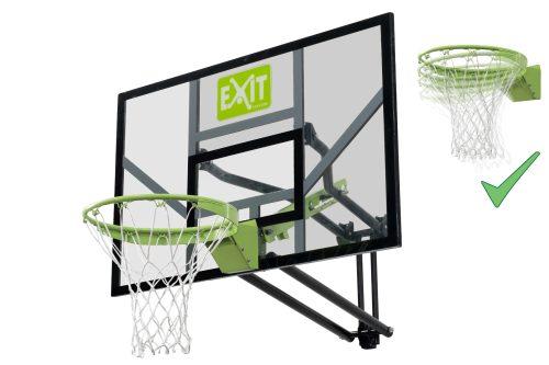 Basketballkorb Von Exit Toys EXIT Galaxy Wandmontage Mit Dunkringgruen Schwarz Bei Serag AG 1