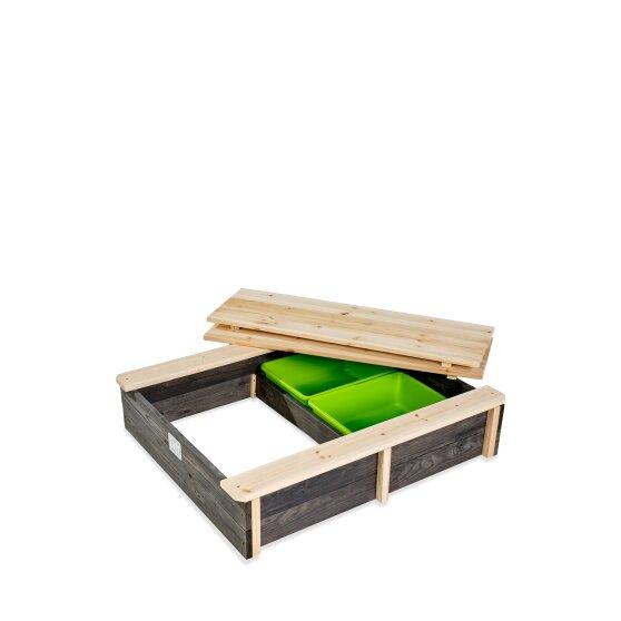 Holzsandkasten Von EXIT Toys EXIT Aksent Grau 94x77cm Bei Serag AG 1