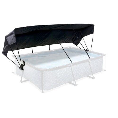 Pool Sonnensegel Von EXIT Toys 300x200cm Schwarz Bei Serag AG