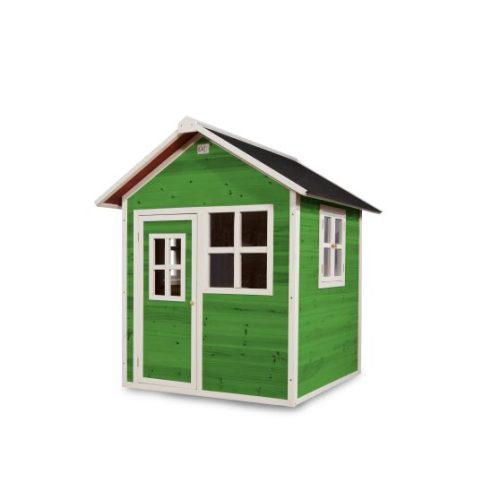 Holzspielhaus Von EXIT Toys EXIT Loft 100 Gruen Bei Serag AG 1