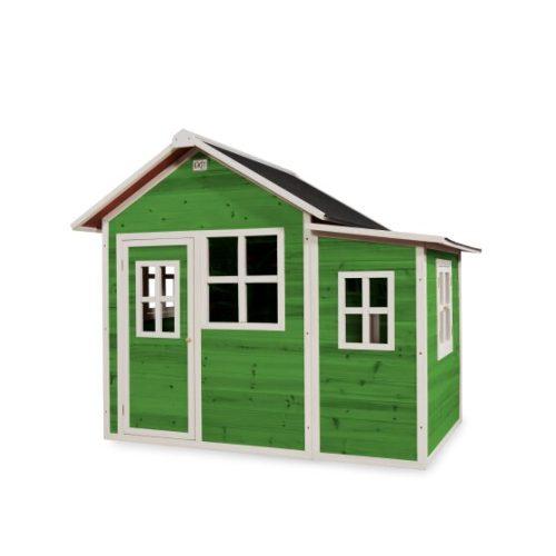 Holzspielhaus Von EXIT Toys EXIT Loft 150 Gruen Bei Serag AG 1