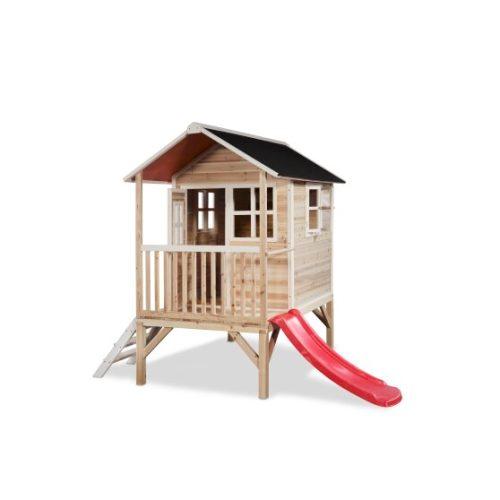 Holzspielhaus Von EXIT Toys EXIT Loft 300 Naturel Bei Serag AG 1